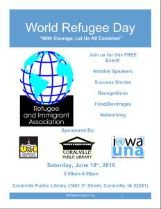 World Refugee Day Flyer